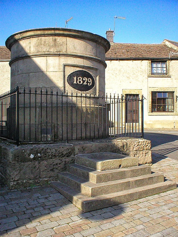 The fountain, once used by Youlgrave Waterworks 624 KL