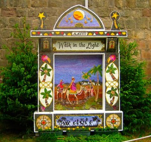 welldressing artwork