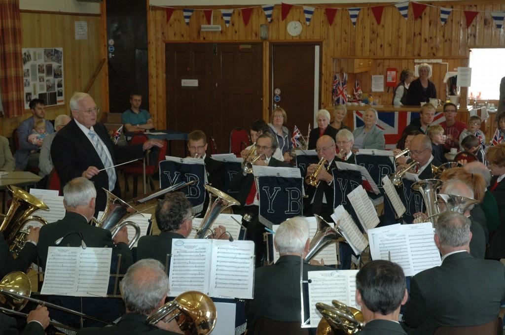 Playing at Hartington