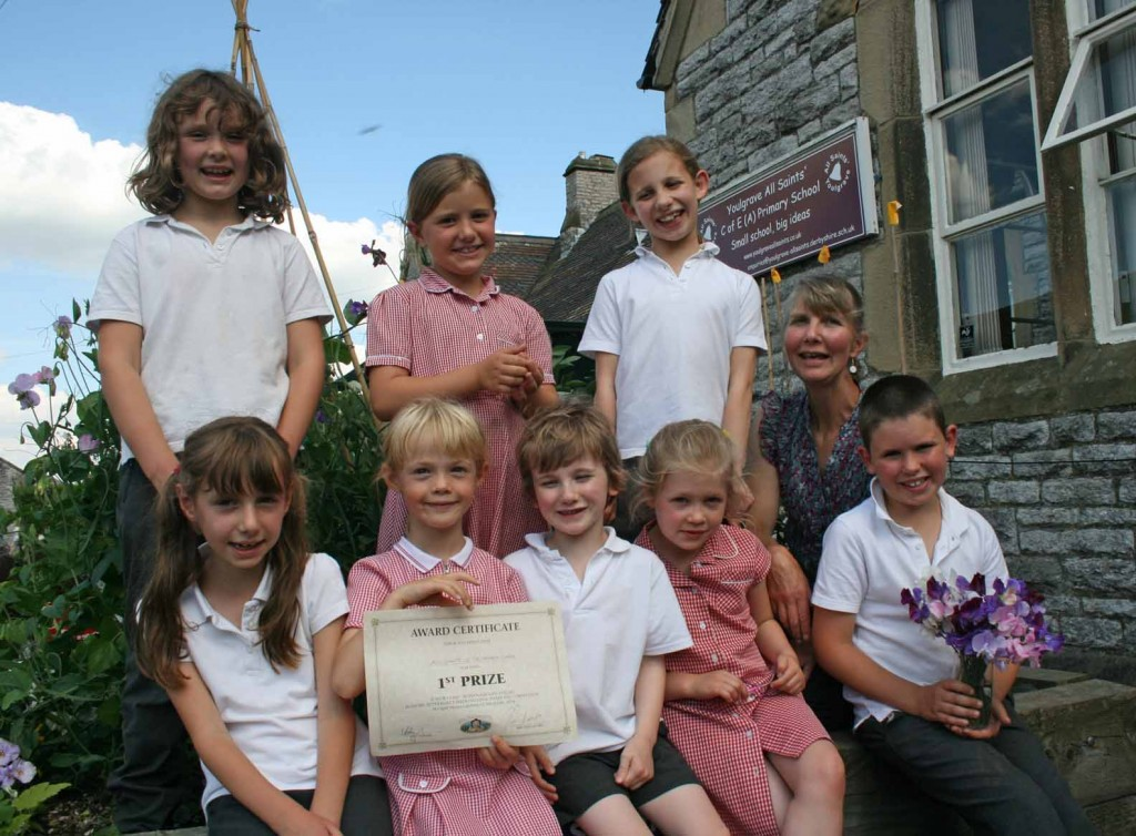 Youlgrave School Garden winners2 small