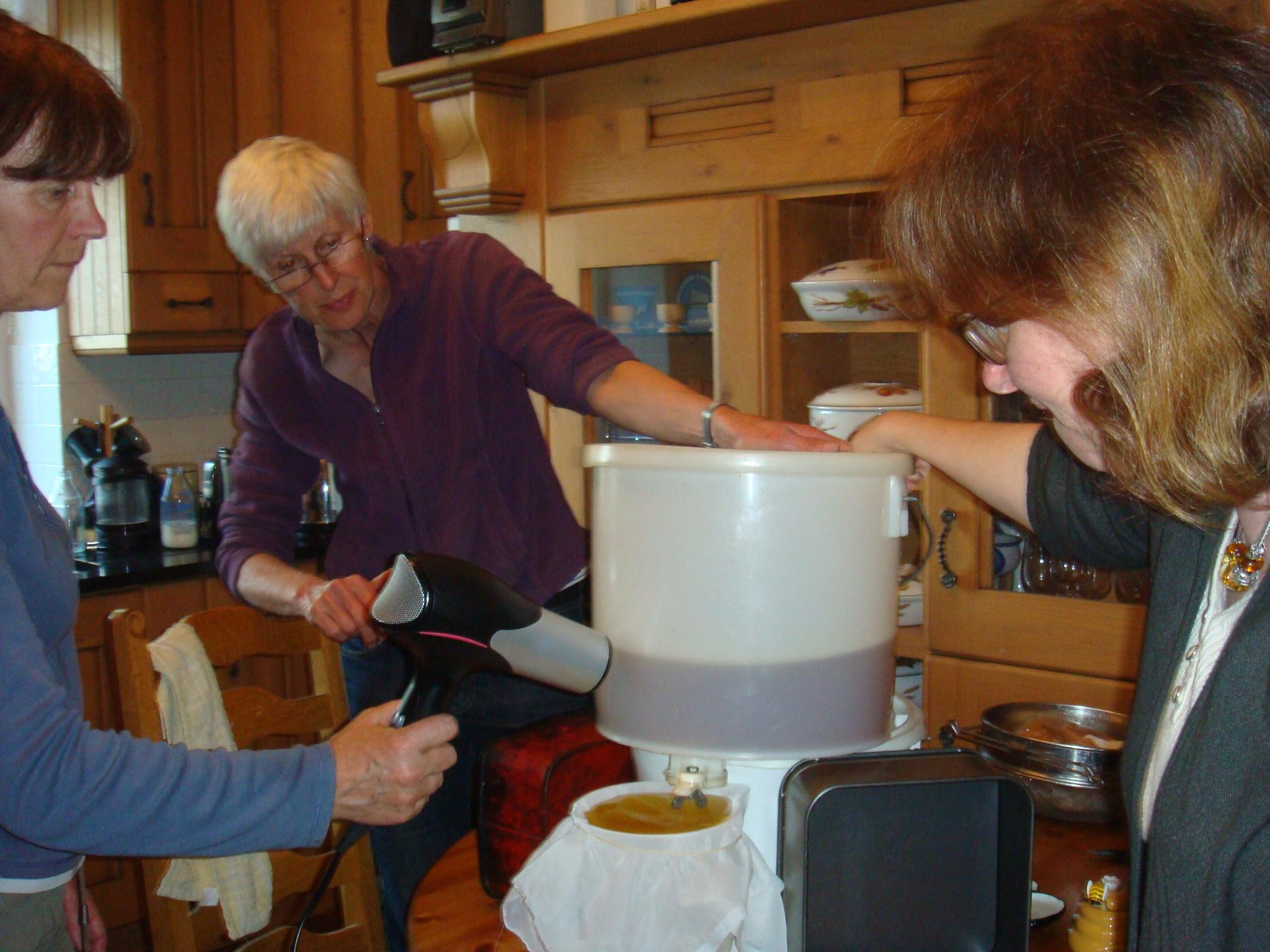 Honey centrifuge