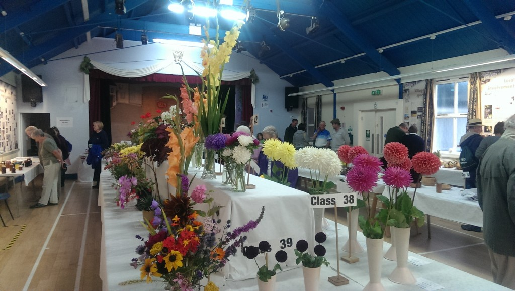Flowers at the show