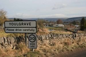 Youlgrave village sign