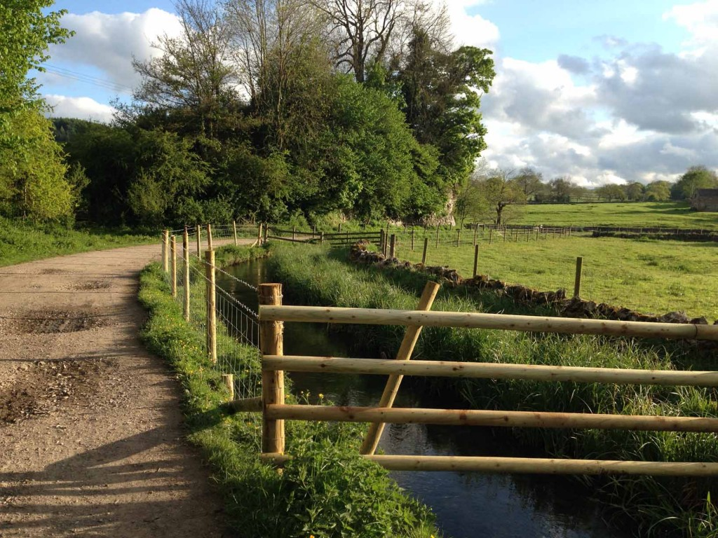 River Bradford fencing
