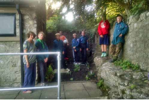 Scouts toilet block gardens 1