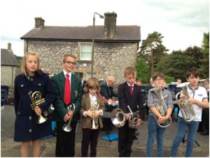 Youlgrave Silver Band learners Aug 2015