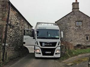 HGV on Moor Lane 2