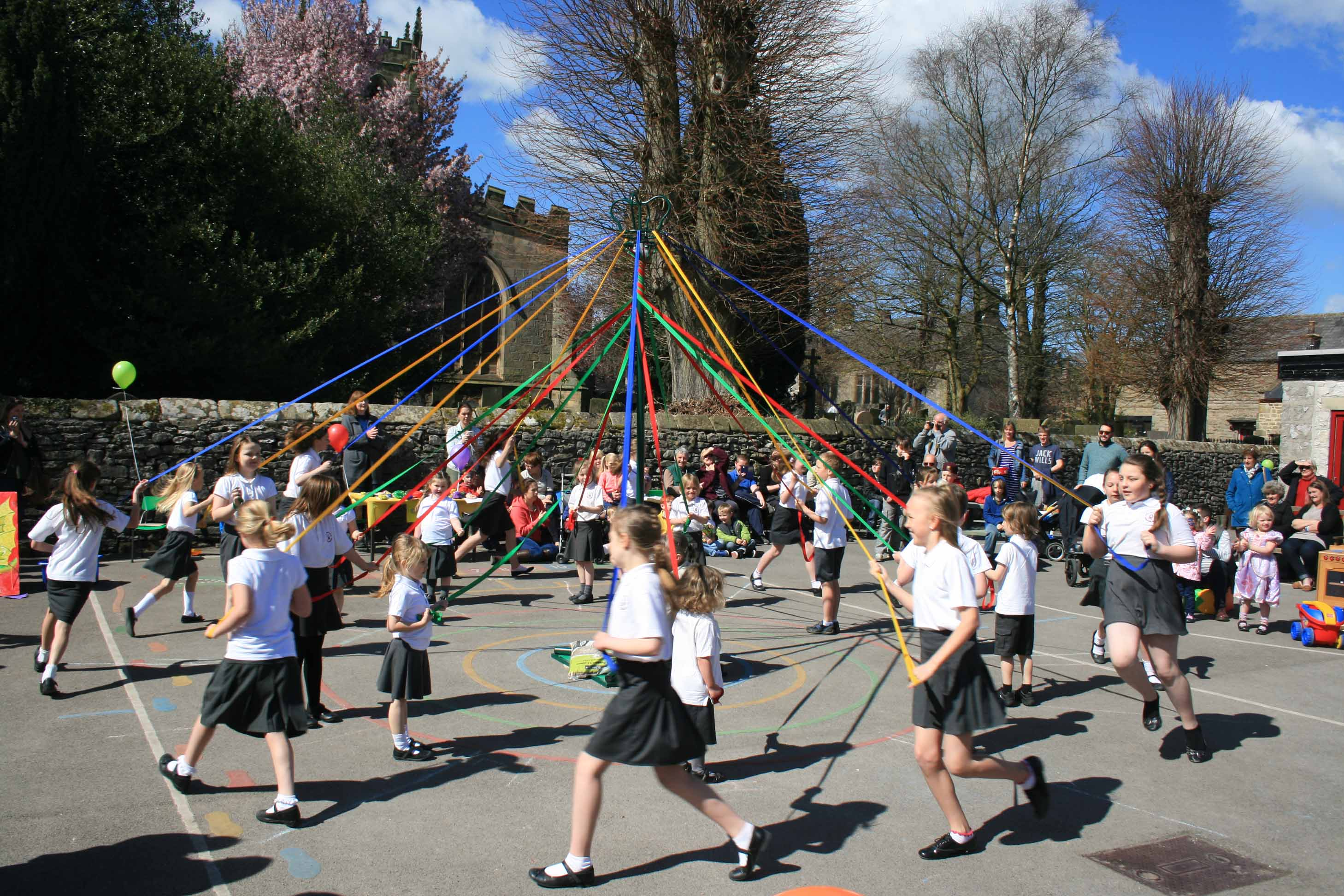 School Fair maypole dancing Apr 16 a